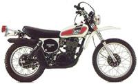 Thumbnail Yamaha Xt-500 1975-1983 Service Repair Manual